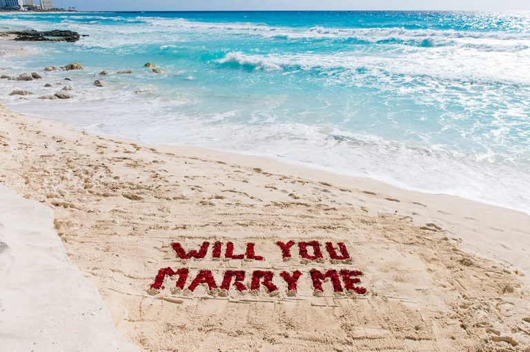 Cancun Beach Proposal